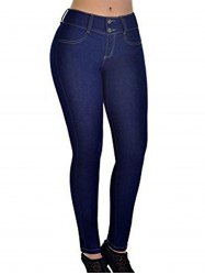 Womens Casual Jeans Skinny Trendy Stretch Pencil Denim Pants -
