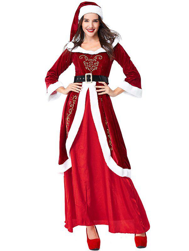 2019 Women s Christmas Party Costumes Dress Cosplay Clothes Sets ... 04ffa75caba1