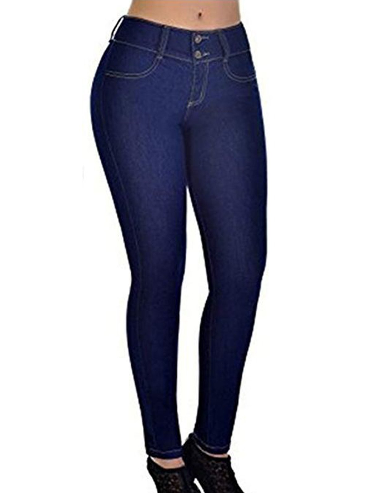 Affordable Womens Casual Jeans Skinny Trendy Stretch Pencil Denim Pants