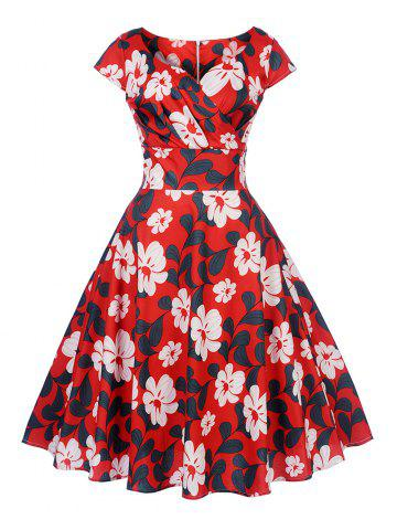 New Women's Vintage 50s 60s Retro Rockabilly Pinup Housewife Party Swing Dress