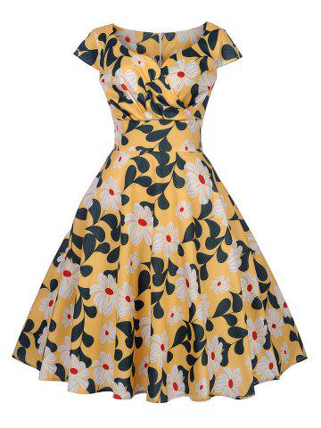 a22a26c43c80 New Women s Vintage 50s 60s Retro Rockabilly Pinup Housewife Party Swing  Dress