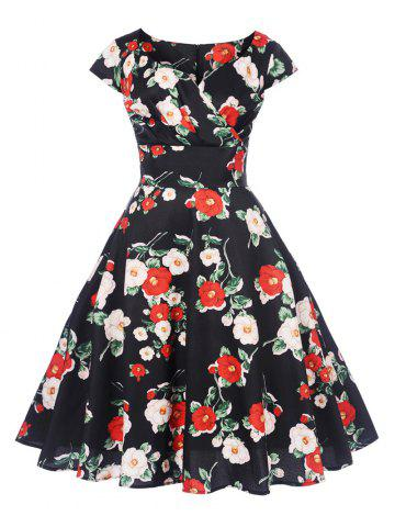 09ccf40d811 New Women s Vintage 50s 60s Retro Rockabilly Pinup Housewife Party Swing  Dress