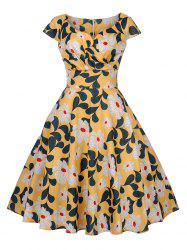 New Women's Vintage 50s 60s Retro Rockabilly Pinup Housewife Party Swing Dress -
