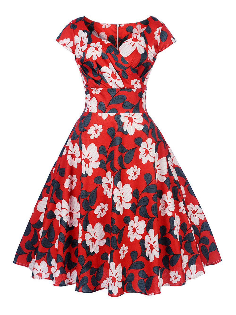 84b66f4a9cee New Women s Vintage 50s 60s Retro Rockabilly Pinup Housewife Party Swing  Dress - 2xl