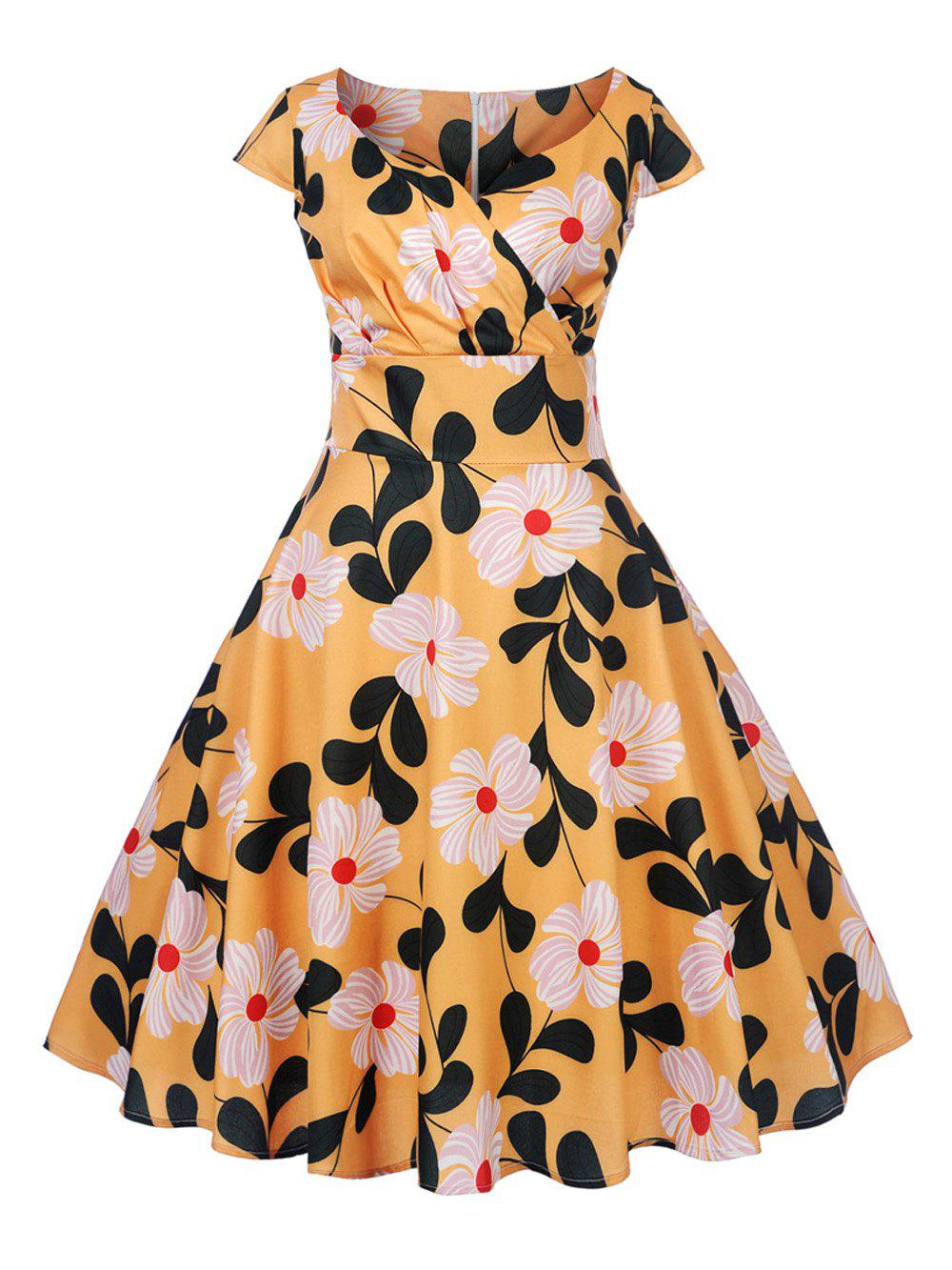 937aee65d0af Fashion New Women s Vintage 50s 60s Retro Rockabilly Pinup Housewife Party Swing  Dress