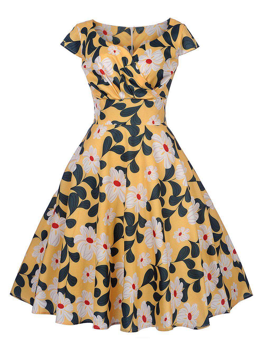 New New Women's Vintage 50s 60s Retro Rockabilly Pinup Housewife Party Swing Dress
