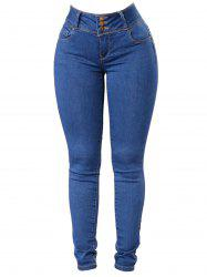 Women Classic Slimming Butt Lift Stretch Skinny Denim Jeans -