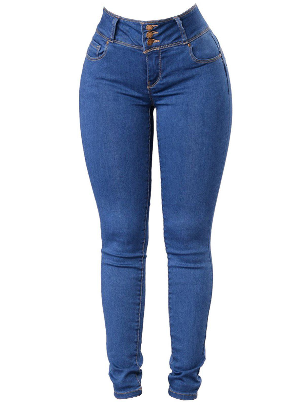 Outfits Women Classic Slimming Butt Lift Stretch Skinny Denim Jeans