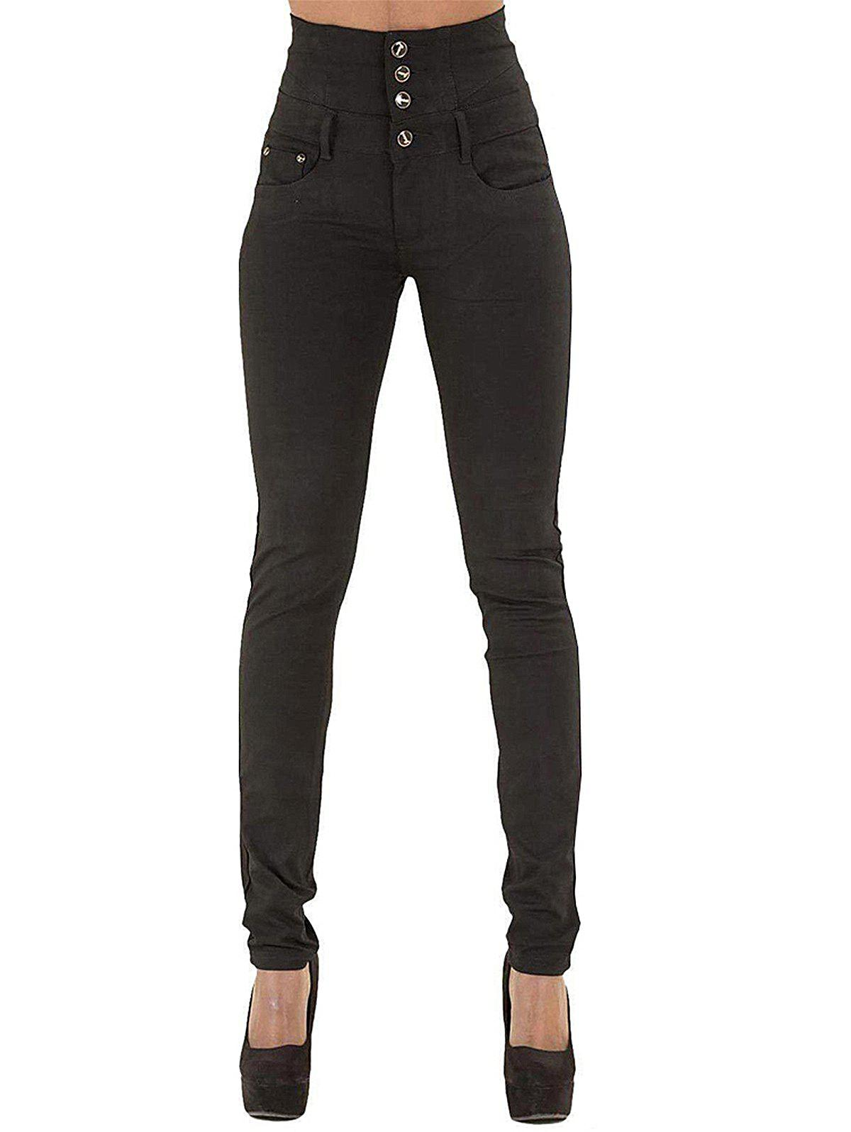 Sale Womens Fashion High Waisted Stretch Skinny Denim Jeans