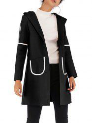 Womens Casual  Lapel Wool Blend  Winter Fall  Coat Overcoat -