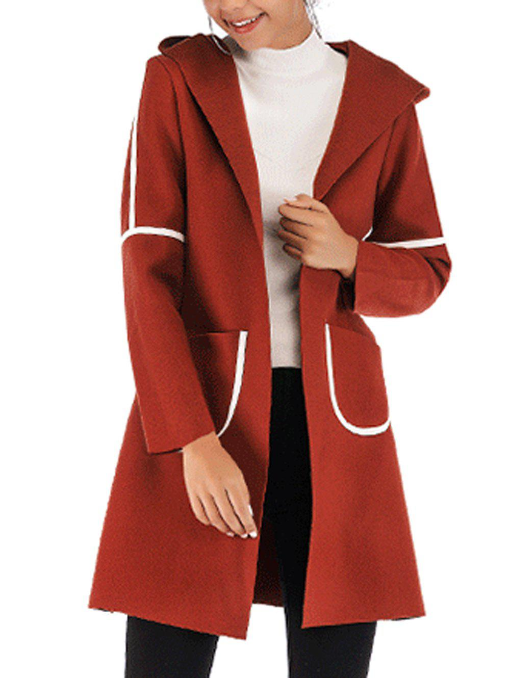 Outfit Womens Casual  Lapel Wool Blend  Winter Fall  Coat Overcoat