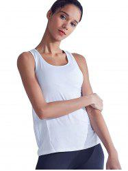 Quick-Drying Hollow Stitching Breathable Yoga Vest -