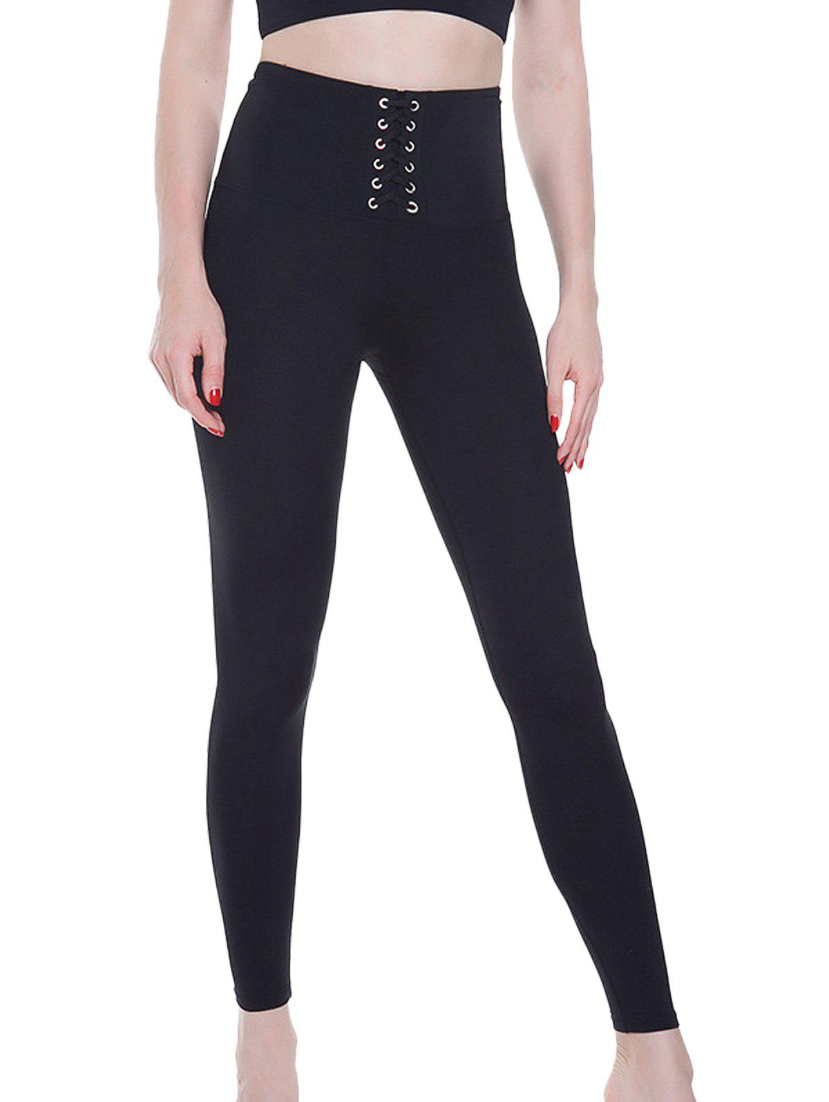 Online High Waist Strap Fitness Yoga Quick-Drying Pants