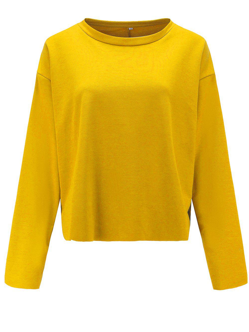 Affordable Womens Casual Round Neck  Sweatshirt  Long Sleeve Pullover Tops