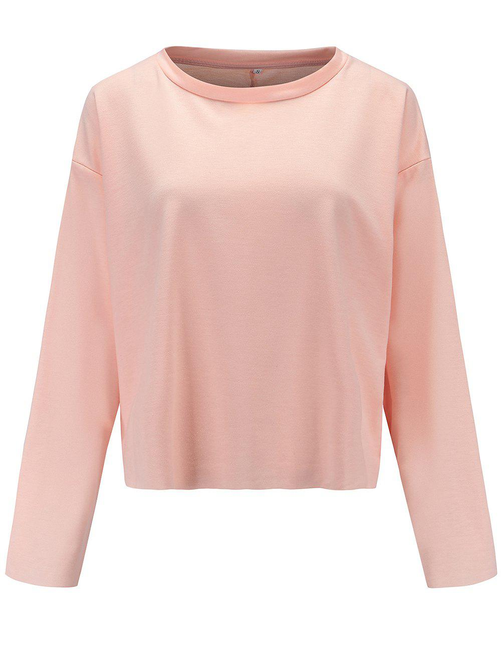Latest Womens Casual Round Neck  Sweatshirt  Long Sleeve Pullover Tops