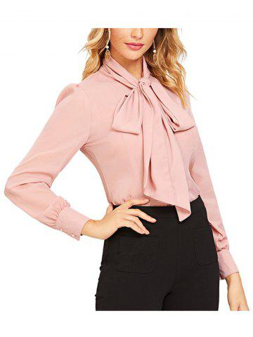Women Fashion Long Sleeve Chiffon Blouse  T-Shirt