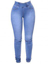 Womens Fashion Slim Fit Stretchy Skinny Jeans -