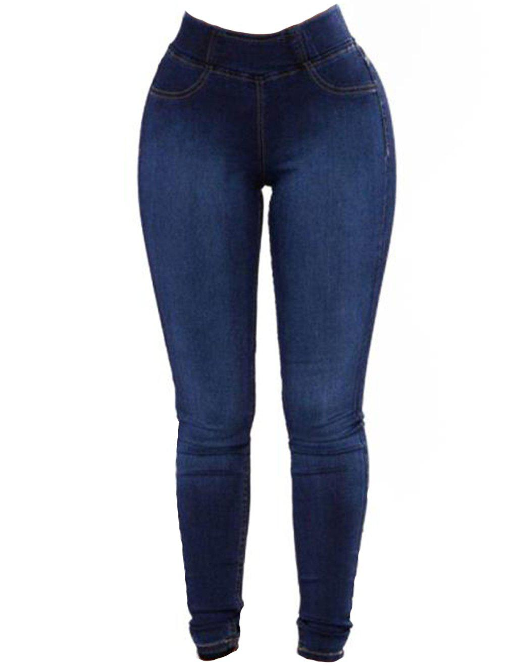 Buy Womens Fashion Slim Fit Stretchy Skinny Jeans