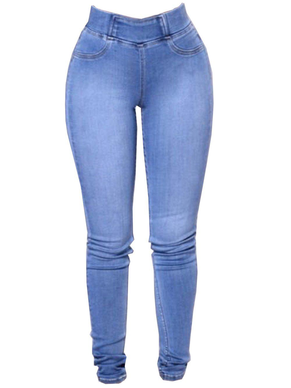 Cheap Womens Fashion Slim Fit Stretchy Skinny Jeans