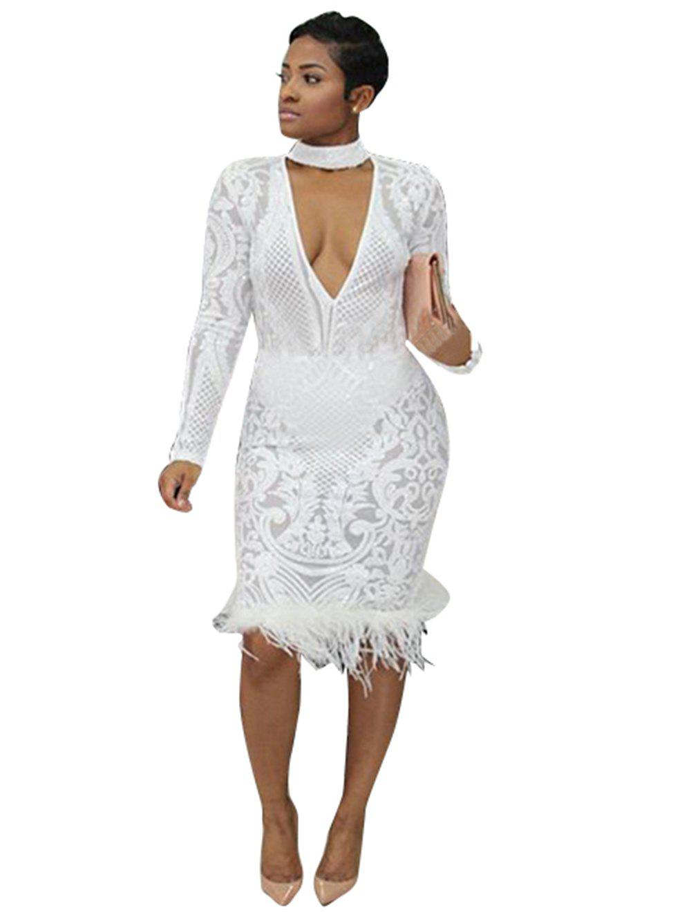 Fashion Women Sexy Sequin Lace Ball Dress Romantic Lace Beading Bridal Gown Wedding Dress Party Dress