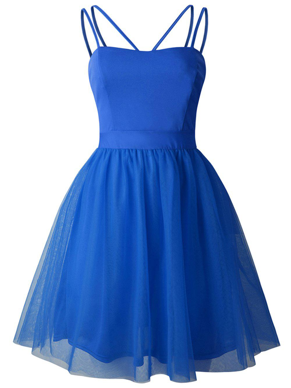 Buy 2019 New Women Sling Swing Dress Cocktail Prom Party Dress