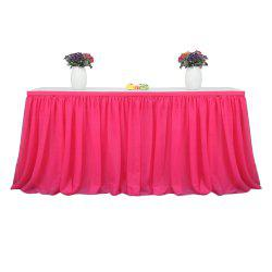 Tutu Tulle Table Skirts Cloth for Party Wedding Home Decoration -