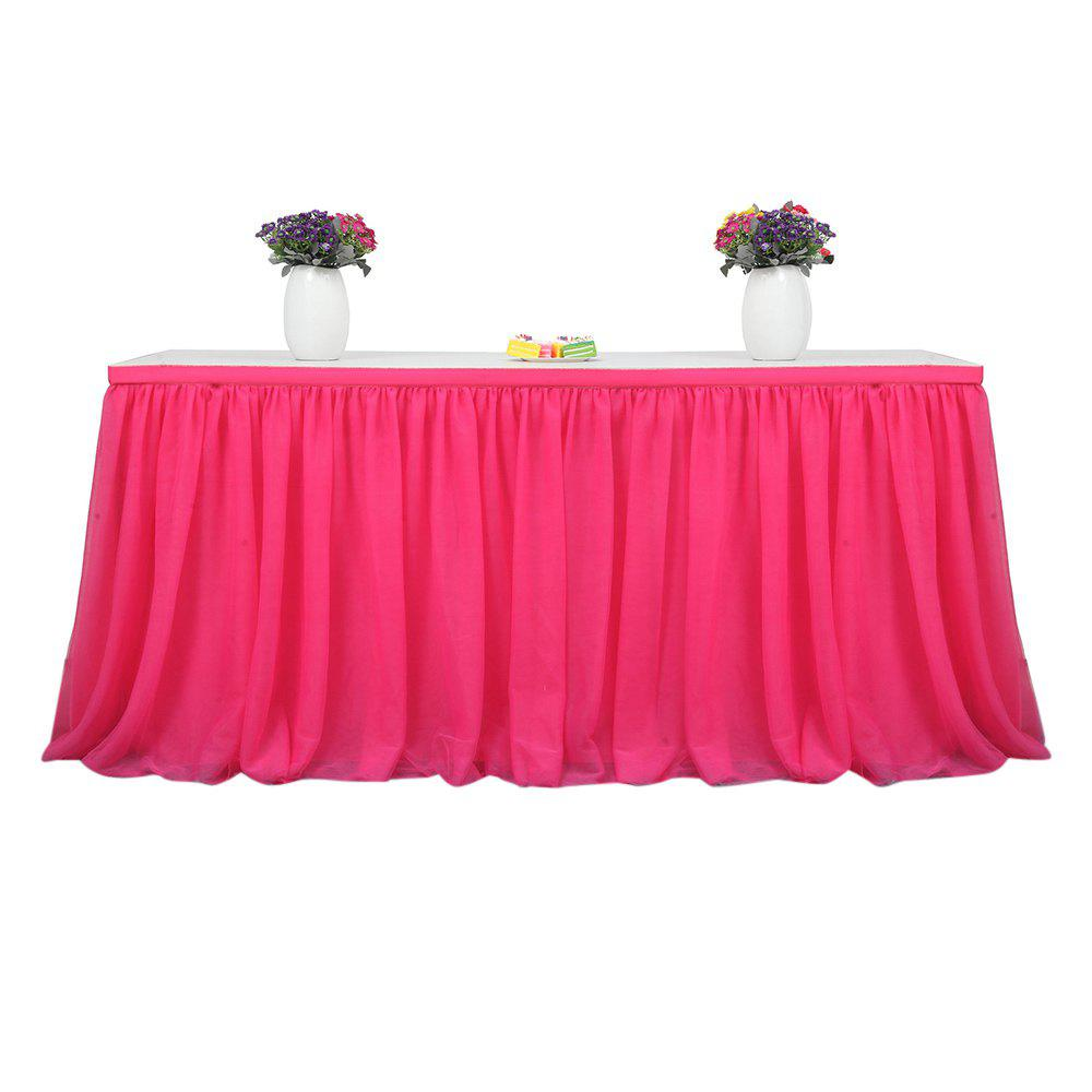 New Tutu Tulle Table Skirts Cloth for Party Wedding Home Decoration