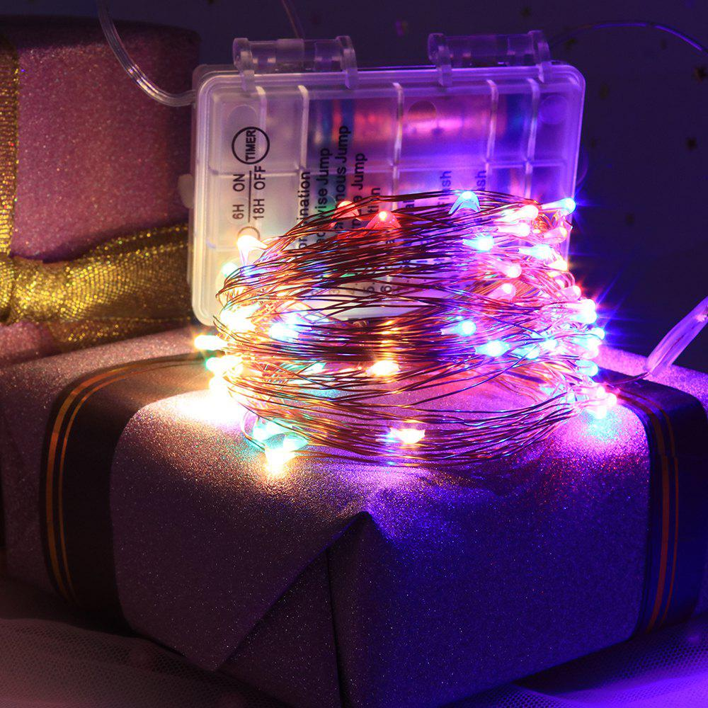 Store 12 Mode Adjustment Music  Sound Activated Twinkle Lights with Remote Control Waterproof for Dorm Wall Party Curtain Decorations Christmas Copper Light String