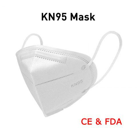 High-closed Dustproof KN95 Masks Professional Protection for Slit Splash Comfortable Elastic Earloop Type