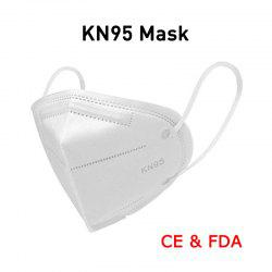 High-closed Dustproof KN95 Masks Professional Protection for Slit Splash PM2.5 Comfortable Elastic Earloop Type -