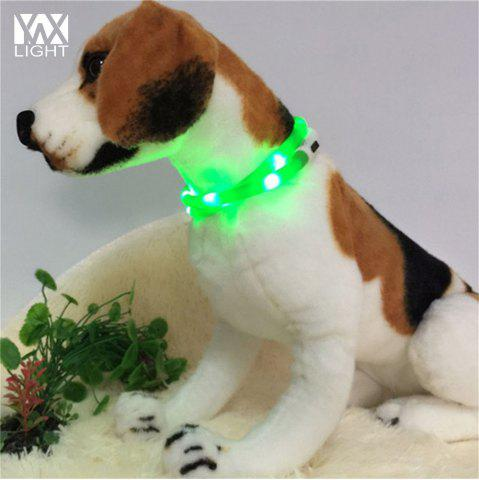 Online YWXLight LED USB Rechargeable Luminous Dog Collar - GREEN  Mobile