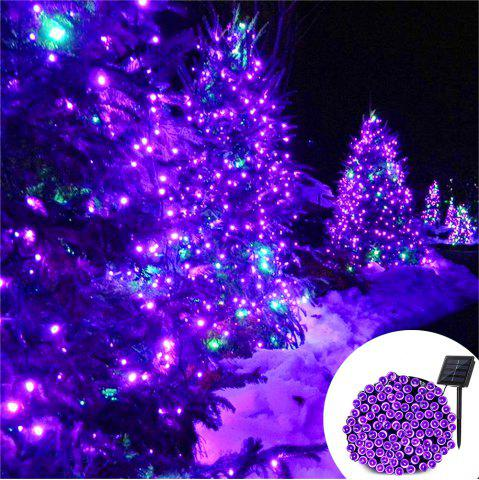 Latest YWXLight 12M Waterproof Solar String Light for Outdoor Christmas Party Decoration