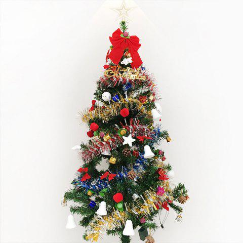 Latest MCYH 1PC 1.5m / 150cm Luxury Encryption Christmas Tree Decoration New Year Gift COLORMIX