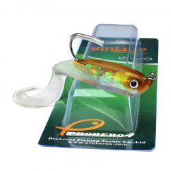 Colorful Soft Fish Road Bait -