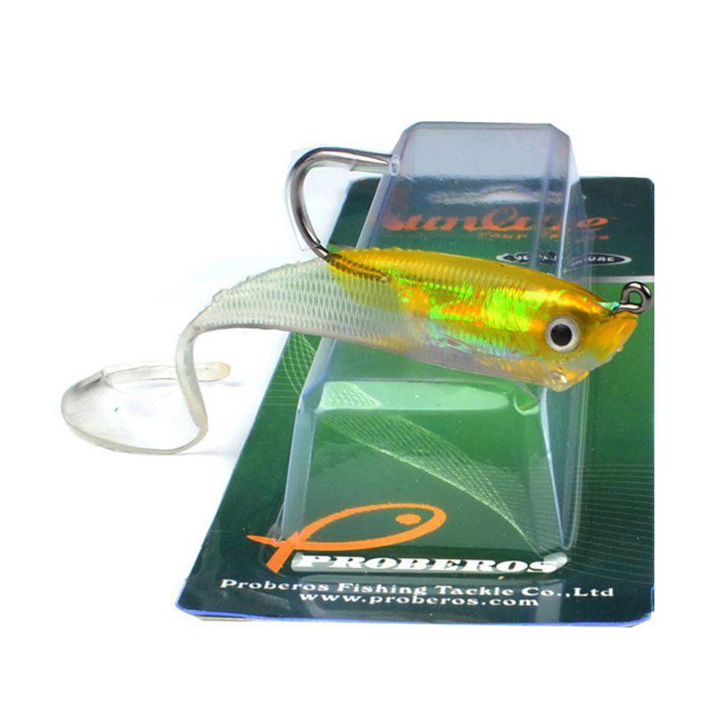 Chic Colorful Soft Fish Road Bait