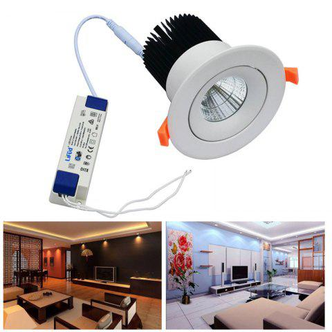 New Jiawen Led Downlight Lighting Lamp 20W AC85-265V Recessed LED Spot Light for Hotel - WARM WHITE LIGHT  Mobile