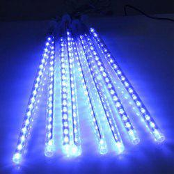 KWB SMD 2835 Colorful Led Meteor Shower Tube Lights Décoration Christmas Light - Bleu Prise EU