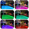 YouOKLight Wired 45W RGB PAR56 Swimming Pool Lamp / Underwater Light - Silver DC 12V 1PCS -