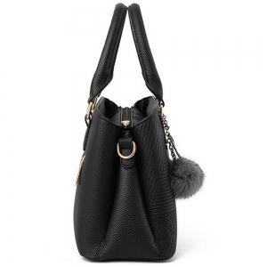 Diagonal Hollow Lady Single Shoulder Bag with a Pendant -