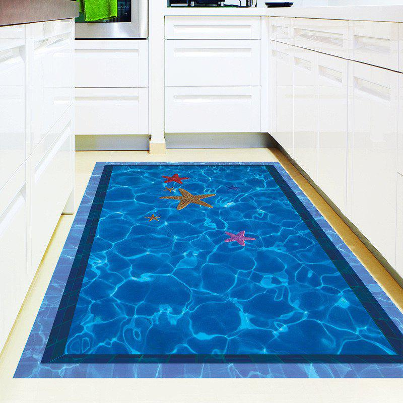 Blue Home Decoration 3d Swimming Pool Removable Wall Stickers For