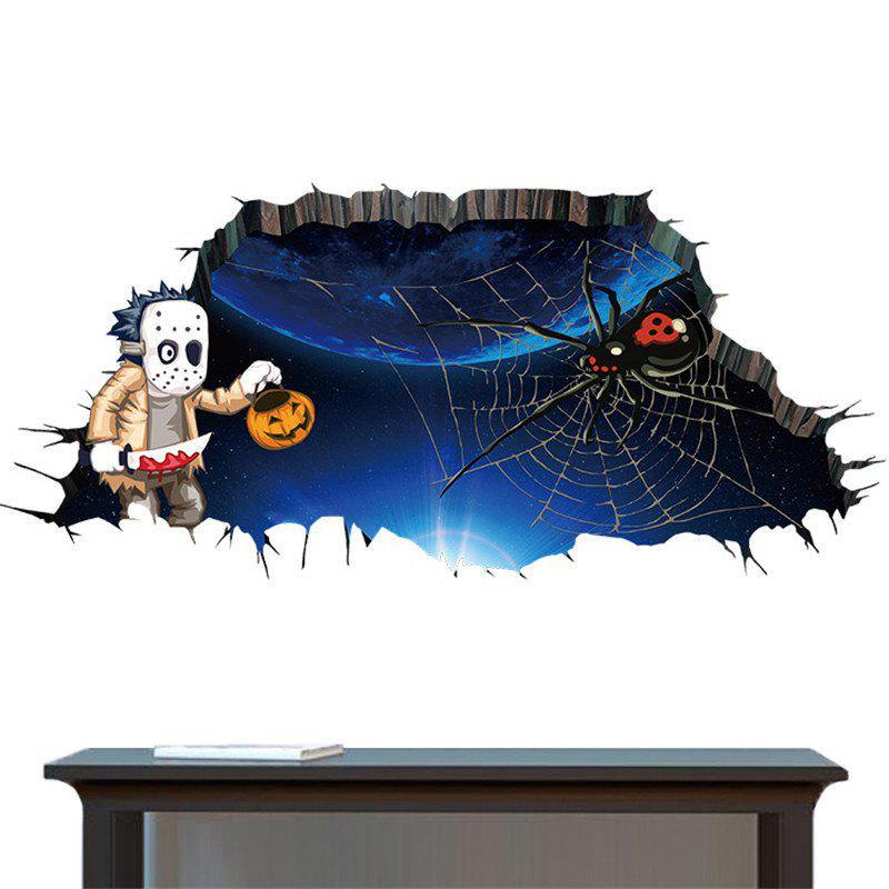 40% OFF] Halloween Decoration 3D Horror Stickers Removable