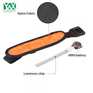 YWXLight LED Sports Armband Running Light Flashing Safety Light for Jogging or Cycling - ORANGE