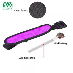 YWXLight LED Sports Armband Running Light Flashing Safety Light for Jogging or Cycling - PURPLE
