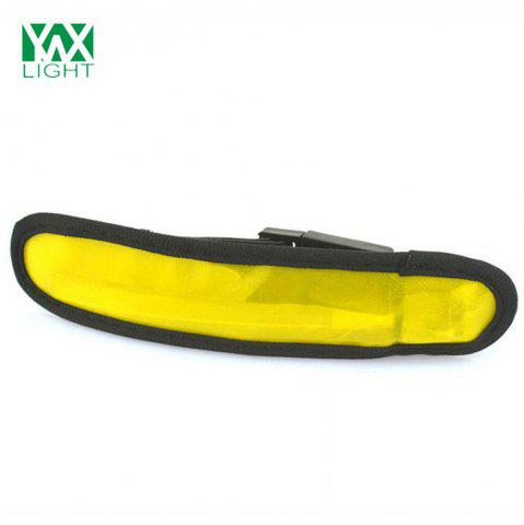 Affordable YWXLight LED Sports Armband Running Light Flashing Safety Light for Jogging or Cycling YELLOW
