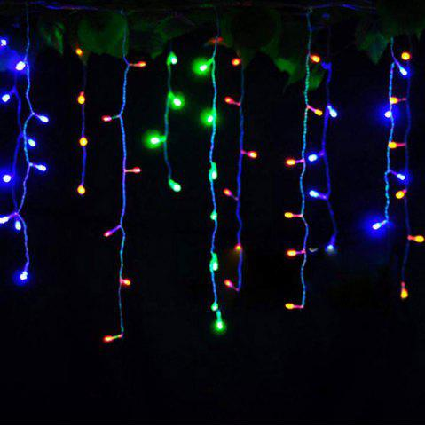 Discount KWB LED Christmas Lights Outdoor Decoration Lights 3.5m Droop  Led Curtain Icicle String Lights White / Warm White / RGB / Blue New Year Wedding Party lights