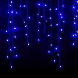 KWB LED Christmas Lights Outdoor Decoration Lights 3.5m Droop  Led Curtain Icicle String Lights White / Warm White / RGB / Blue New Year Wedding Party lights -