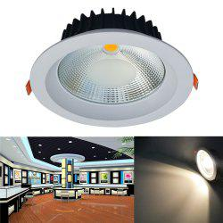 JIAWEN 20W Warm White/Cool White COB LED Downlight AC 85 - 265V - WARM WHITE LIGHT