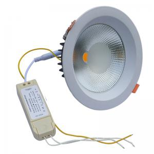 JIAWEN 20W Dimmable Warm White / Cool White COB LED Downlight AC 85 - 265V -