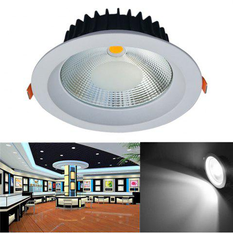 JIAWEN 20W Dimmable Blanc chaud / Cool White COB LED Downlight AC 85 - 265V Blanc Froid