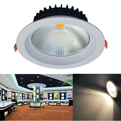 Shops JIAWEN 20W Dimmable Warm White / Cool White COB LED Downlight AC 85 - 265V - WARM WHITE LIGHT  Mobile